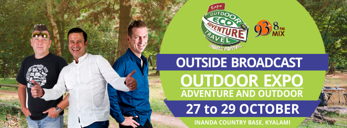 Mix FM Live Broadcast at Outdoor Expo, Kyalami