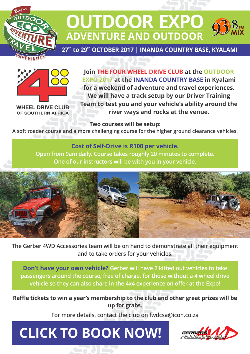 The Four Wheel Drive Club 4x4 Track at Outdoor Expo